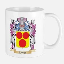 Gavin Coat of Arms (Family Crest) Mugs