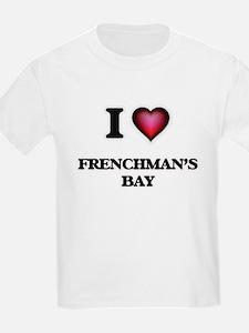 I love Frenchman'S Bay Virgin Islands T-Shirt