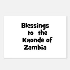 Blessings  to  the  Kaonde of Postcards (Package o