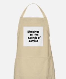 Blessings  to  the  Kaonde of BBQ Apron