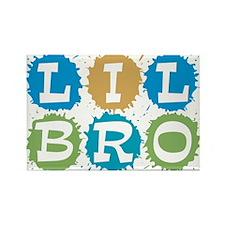 Lil Bro Rectangle Magnet