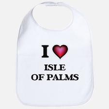 I love Isle Of Palms South Carolina Bib