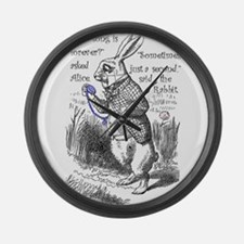 How Long Is Forever? Large Wall Clock