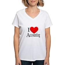 I Love Accounting Shirt