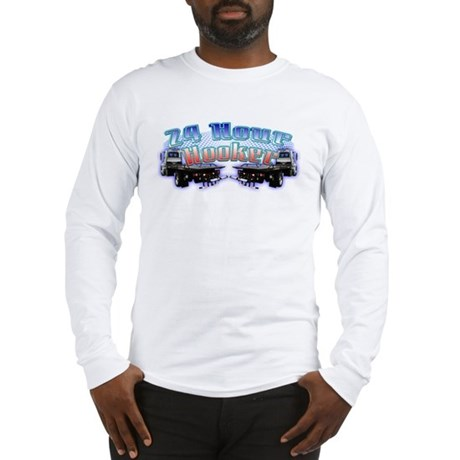 24 Hour Flatbed Long Sleeve T-Shirt