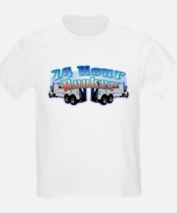 Tow truck kid 39 s clothing tow truck kid 39 s shirts hoodies for Heavy duty work t shirts