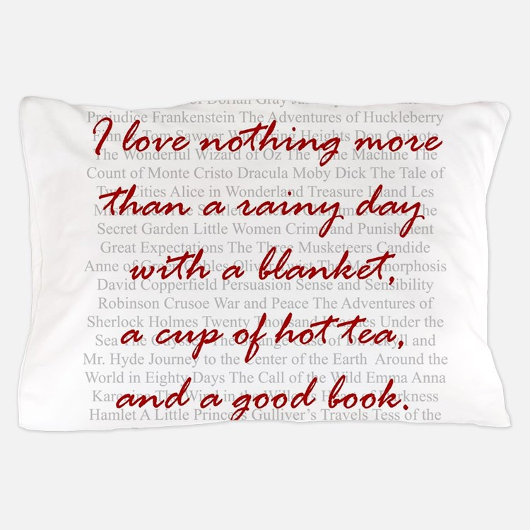 Cute Book quote Pillow Case