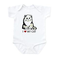 Persian Cat Infant Creeper