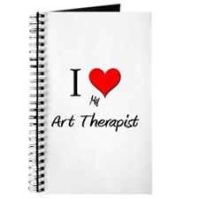 I Love My Art Therapist Journal