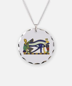 Pectoral Necklace Circle Charm