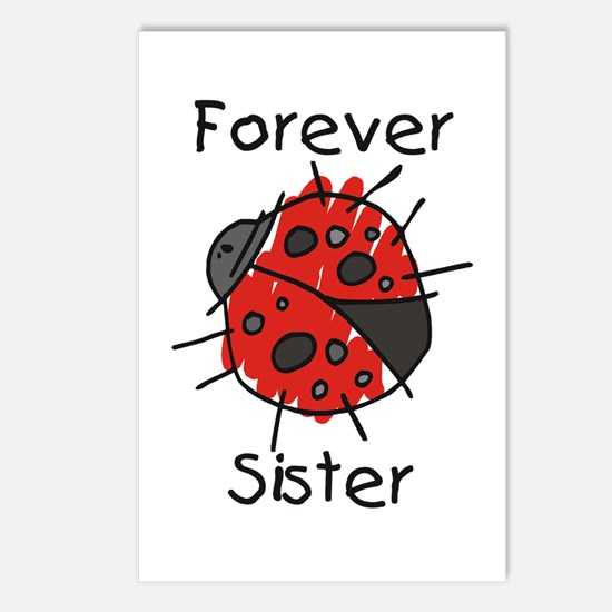 Forever Sister Postcards (Package of 8)