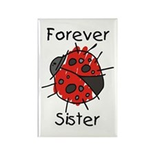 Forever Sister Rectangle Magnet