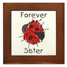 Forever Sister Framed Tile