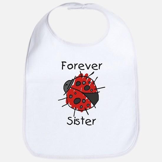 Forever Sister Bib