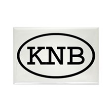 KNB Oval Rectangle Magnet