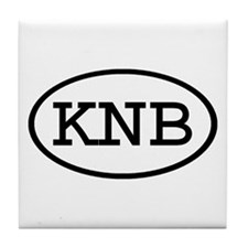 KNB Oval Tile Coaster