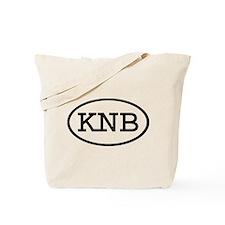 KNB Oval Tote Bag