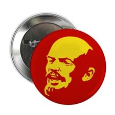 Lenin Red and Gold Badge