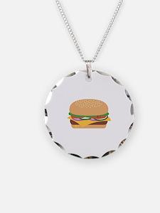 Cheeseburger Necklace