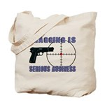Serious Fragging Tote Bag