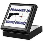 Serious Fragging Keepsake Box
