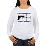 Serious Fragging Women's Long Sleeve T-Shirt