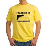 Serious Fragging Yellow T-Shirt