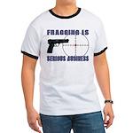 Serious Fragging Ringer T