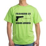 Serious Fragging Green T-Shirt