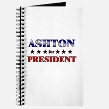 ASHTON for president Journal