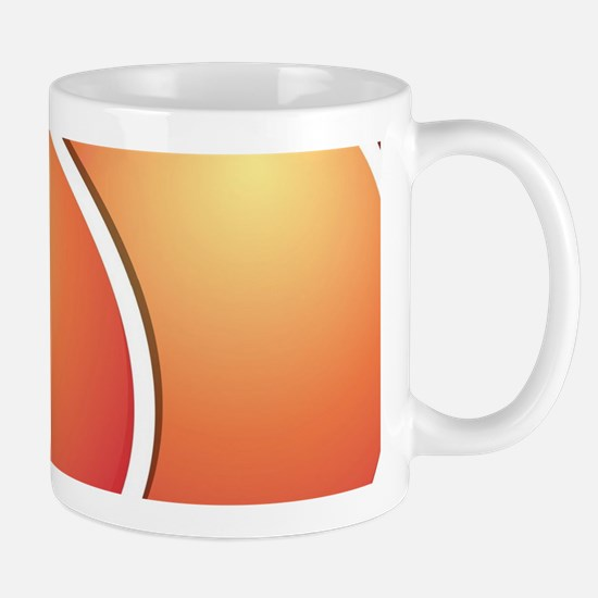 Funky peach Mug
