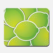 Funky lime Mousepad