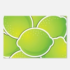 Funky lime Postcards (Package of 8)
