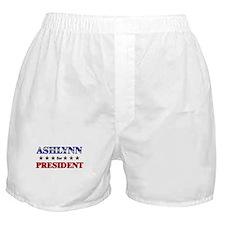 ASHLYNN for president Boxer Shorts
