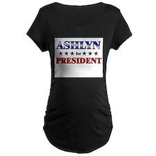 ASHLYN for president T-Shirt