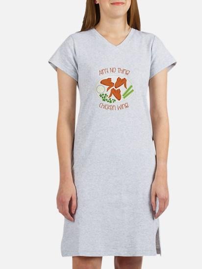 Aint No Chicken Wing Women's Nightshirt