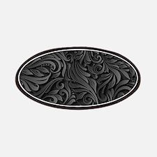 Black Flourish Patch