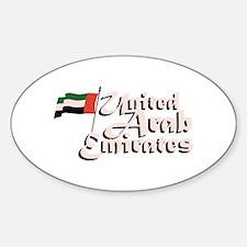 Dubai Flag United Arab Emirates Decal