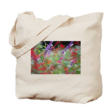 Red and Purple (C) Tote Bag