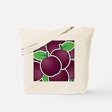 Funky plum Tote Bag