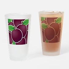 Funky plum Drinking Glass