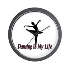 Dancing Life Wall Clock