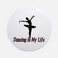 Dancing Life Ornament (Round)