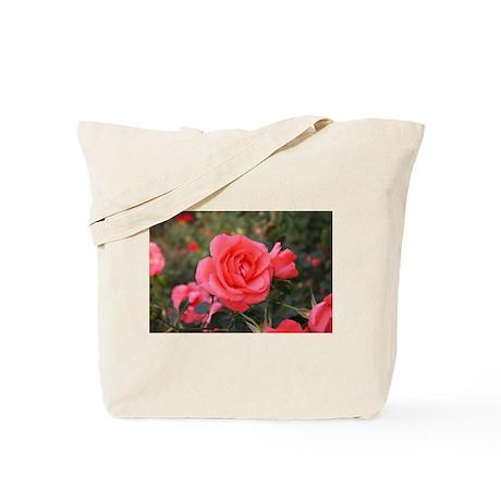 Pink Rose (A) Tote Bag