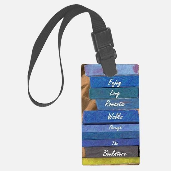 Cute Bookstore Luggage Tag
