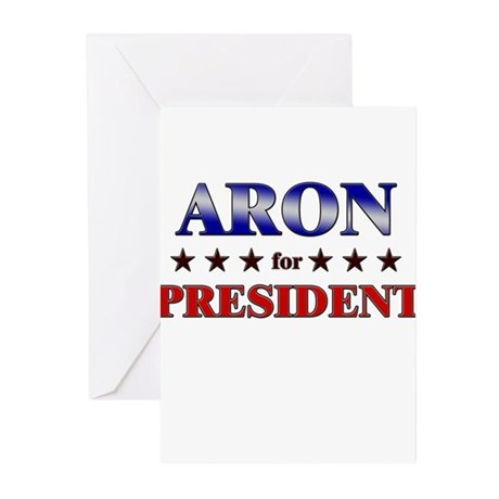 ARON for president Greeting Cards (Pk of 20)