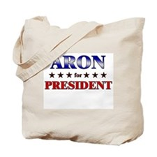 ARON for president Tote Bag