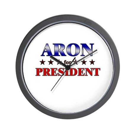ARON for president Wall Clock