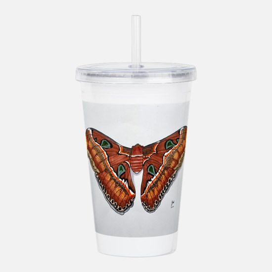 Atlas Moth Acrylic Double-wall Tumbler
