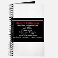 Master's Mug Journal